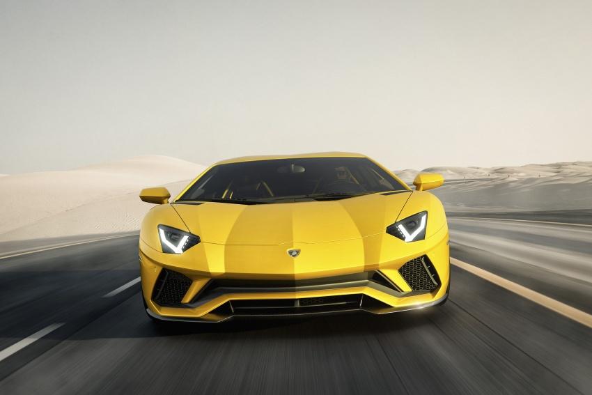 Lamborghini Aventador S – SV styling, more power Image #593371