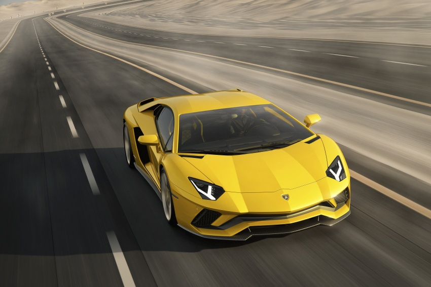 Lamborghini Aventador S – SV styling, more power Image #593372