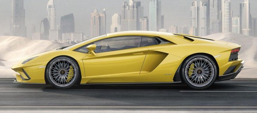 Lamborghini Aventador S – SV styling, more power Image #593375