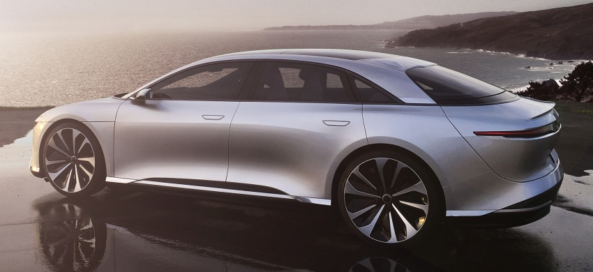 Lucid Motors Air – 1,000 hp luxury EV, 640 km range Image #592036