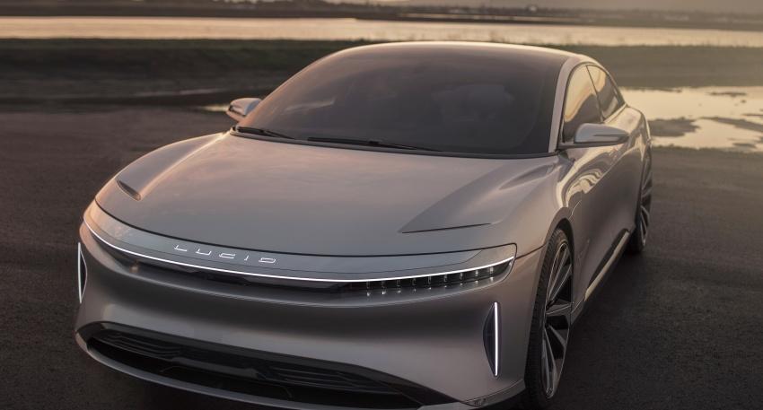Lucid Motors Air – 1,000 hp luxury EV, 640 km range Image #592039