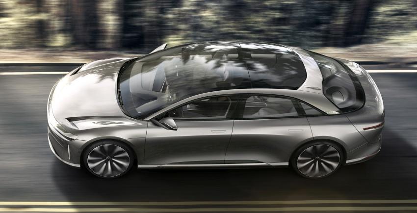 Lucid Motors Air – 1,000 hp luxury EV, 640 km range Image #592040