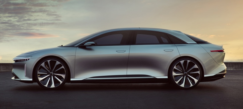 Lucid Motors Air – 1,000 hp luxury EV, 640 km range Image #592041