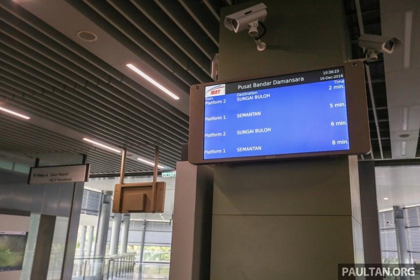 MRT Sungai Buloh-Kajang (SBK) Line Phase 1 opens to the public today – we ride the new train Image #592855