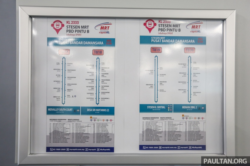 MRT Sungai Buloh-Kajang (SBK) Line Phase 1 opens to the public today – we ride the new train Image #592857