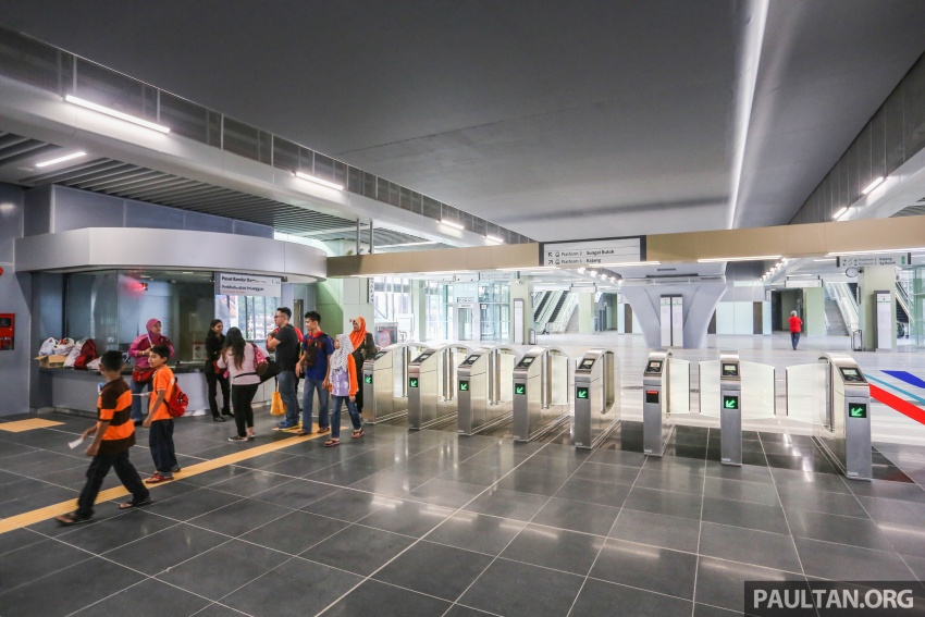MRT Sungai Buloh-Kajang (SBK) Line Phase 1 opens to the public today – we ride the new train Image #592859