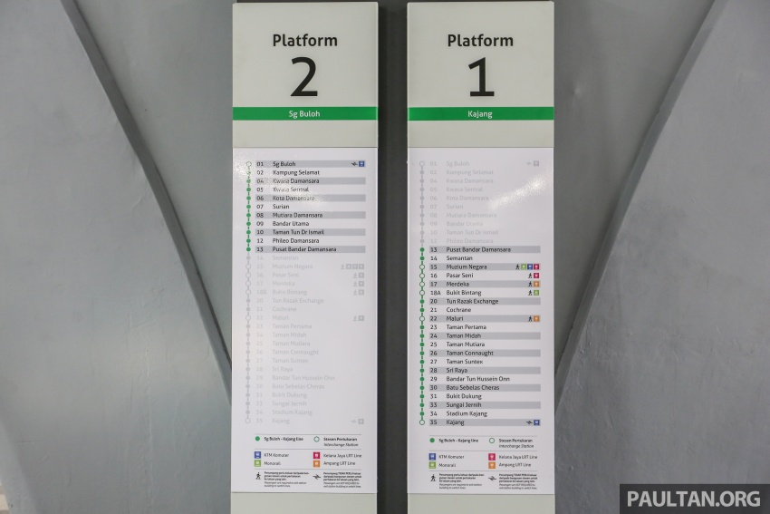 MRT Sungai Buloh-Kajang (SBK) Line Phase 1 opens to the public today – we ride the new train Image #592860