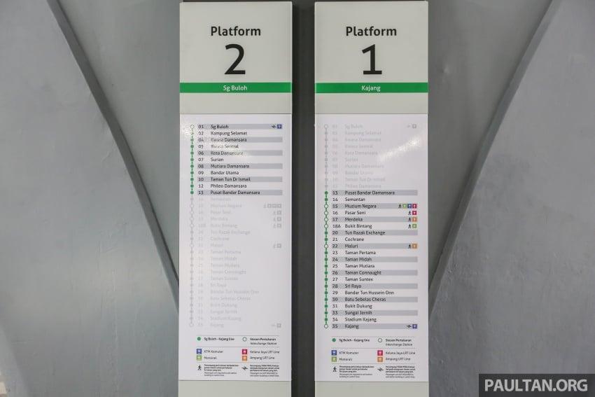 MRT Sungai Buloh-Kajang (SBK) Line Phase 1 opens to the public today – we ride the new train Image #592860
