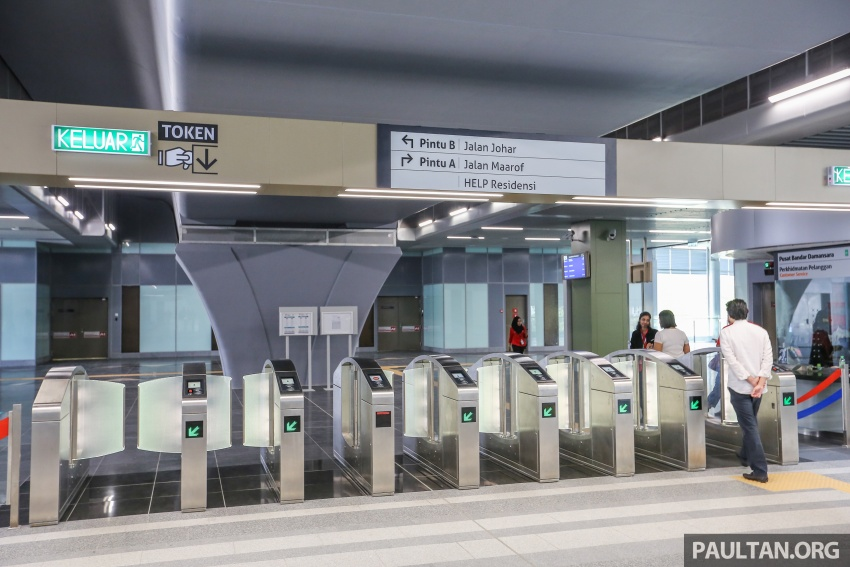 MRT Sungai Buloh-Kajang (SBK) Line Phase 1 opens to the public today – we ride the new train Image #592862