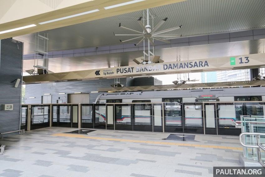 MRT Sungai Buloh-Kajang (SBK) Line Phase 1 opens to the public today – we ride the new train Image #592863