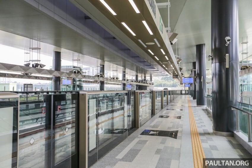 MRT Sungai Buloh-Kajang (SBK) Line Phase 1 opens to the public today – we ride the new train Image #592864