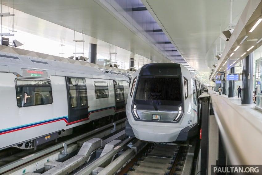 MRT Sungai Buloh-Kajang (SBK) Line Phase 1 opens to the public today – we ride the new train Image #592866