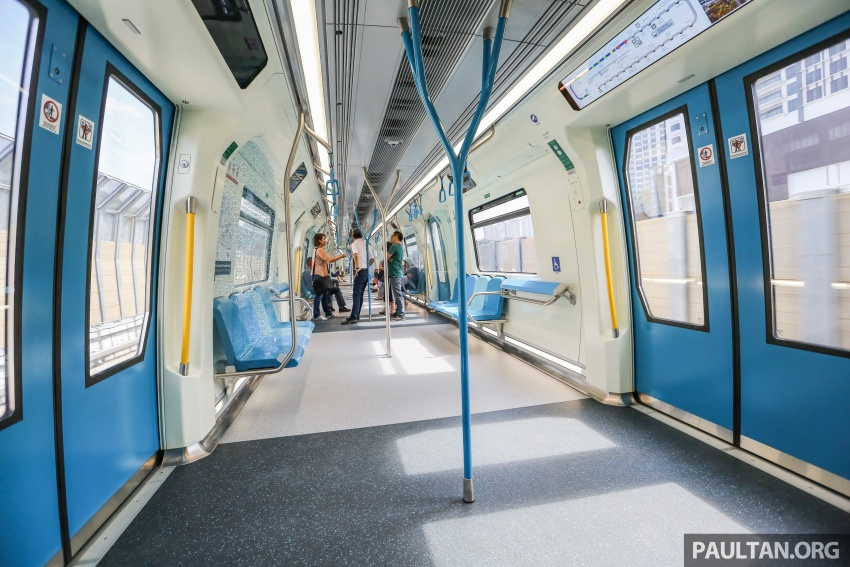MRT Sungai Buloh-Kajang (SBK) Line Phase 1 opens to the public today – we ride the new train Image #592867