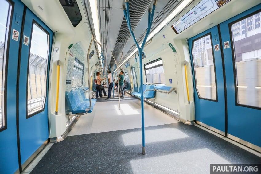 MRT Sungai Buloh-Kajang (SBK) Line Phase 1 opens to the public today – we ride the new train Image #592867