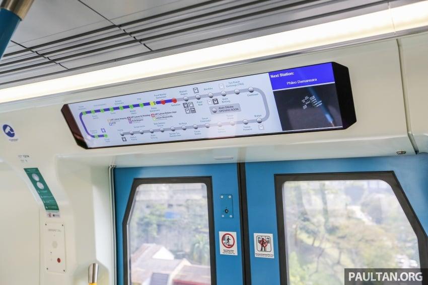 MRT Sungai Buloh-Kajang (SBK) Line Phase 1 opens to the public today – we ride the new train Image #592868