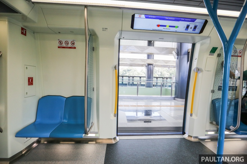MRT Sungai Buloh-Kajang (SBK) Line Phase 1 opens to the public today – we ride the new train Image #592869