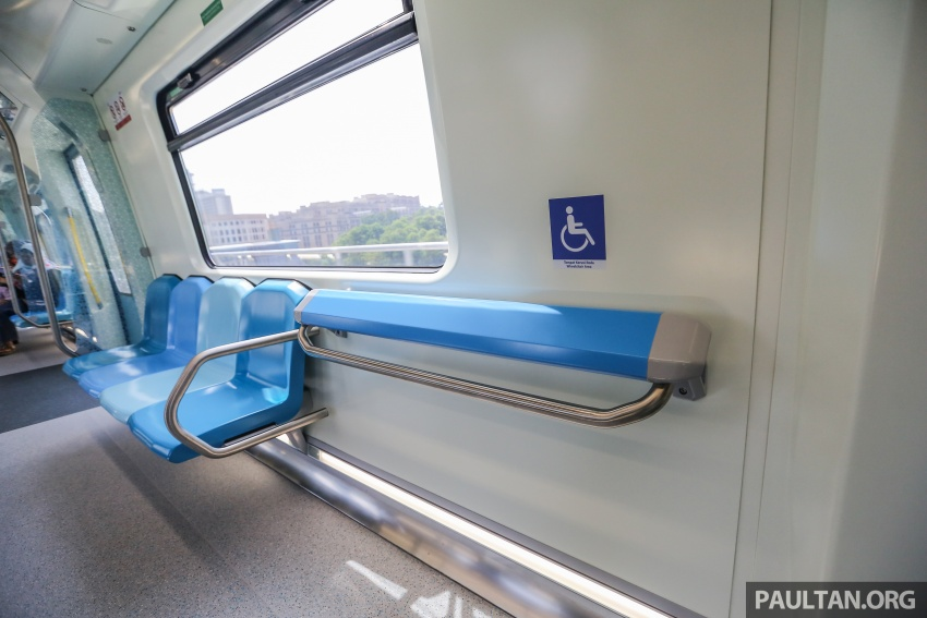 MRT Sungai Buloh-Kajang (SBK) Line Phase 1 opens to the public today – we ride the new train Image #592870