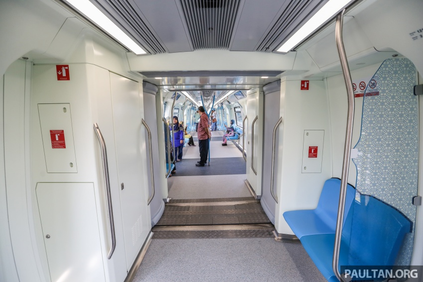 MRT Sungai Buloh-Kajang (SBK) Line Phase 1 opens to the public today – we ride the new train Image #592871