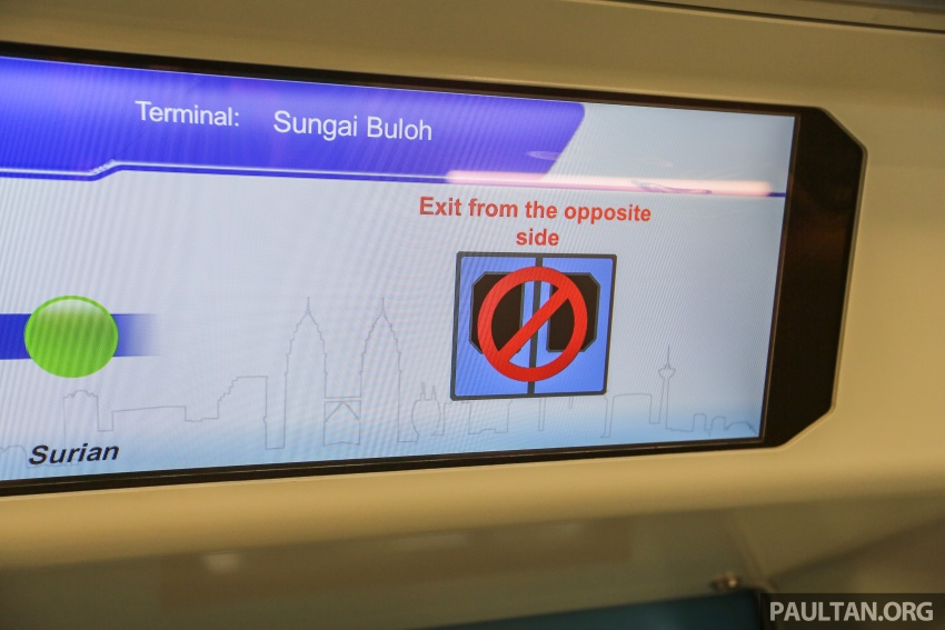 MRT Sungai Buloh-Kajang (SBK) Line Phase 1 opens to the public today – we ride the new train Image #592873