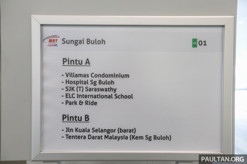 MRT Sungai Buloh-Kajang (SBK) Line Phase 1 opens to the public today – we ride the new train Image #592878
