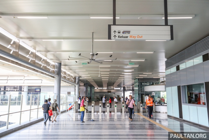 MRT Sungai Buloh-Kajang (SBK) Line Phase 1 opens to the public today – we ride the new train Image #592880