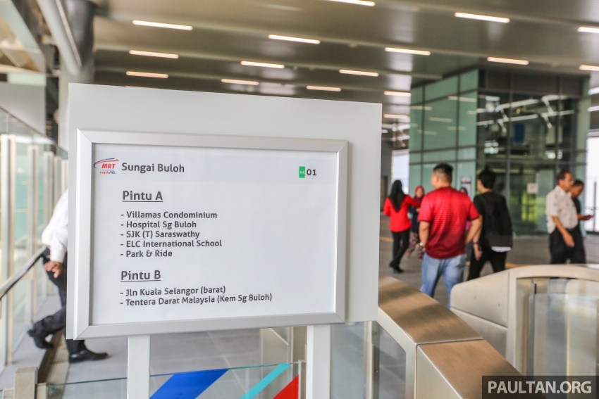MRT Sungai Buloh-Kajang (SBK) Line Phase 1 opens to the public today – we ride the new train Image #592882