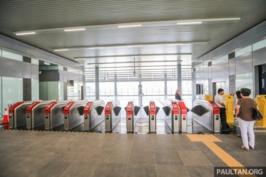 MRT Sungai Buloh-Kajang (SBK) Line Phase 1 opens to the public today – we ride the new train Image #592885