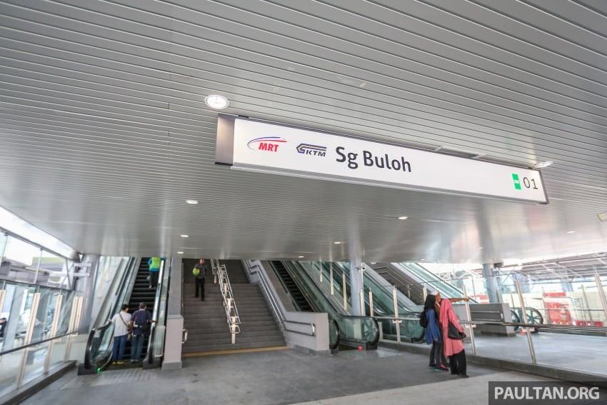 MRT Sungai Buloh-Kajang (SBK) Line Phase 1 opens to the public today – we ride the new train Image #592886