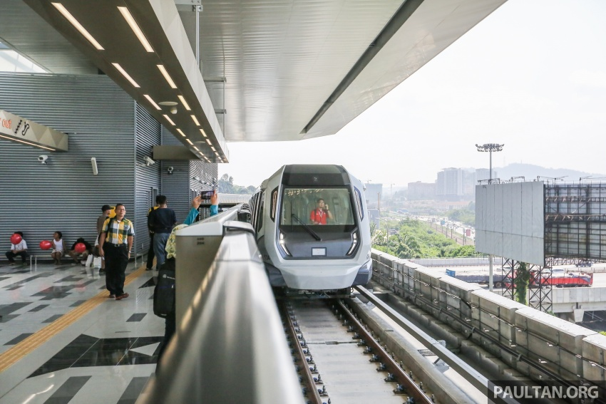 MRT Sungai Buloh-Kajang (SBK) Line Phase 1 opens to the public today – we ride the new train Image #592888