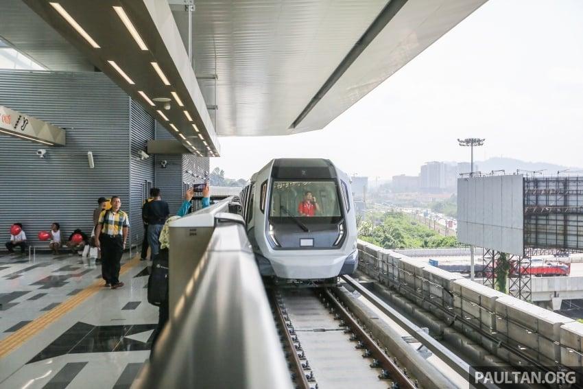 MRT Sungai Buloh-Kajang (SBK) Line Phase 1 opens to the public today – we ride the new train Image #592888