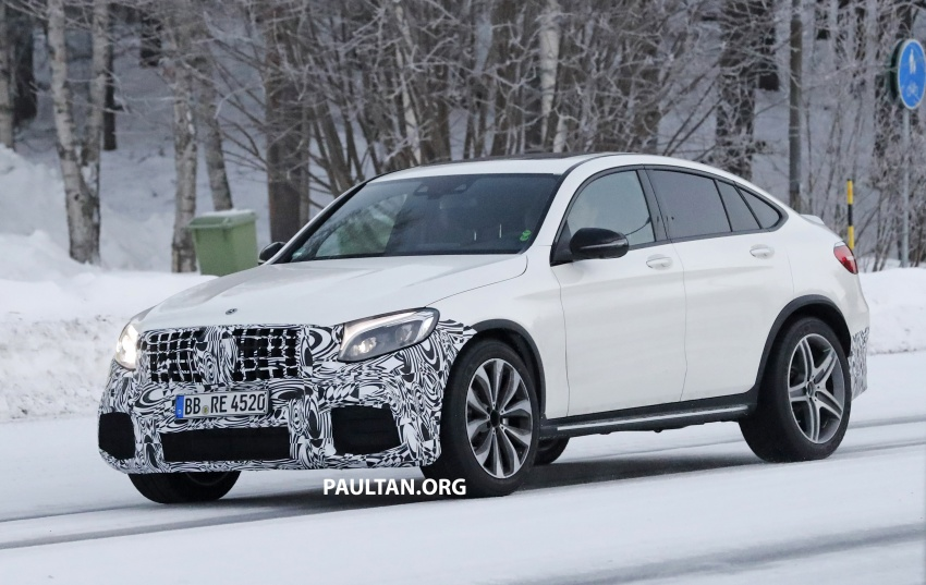 SPYSHOTS: Mercedes-AMG GLC63 Coupe spotted Image #593709