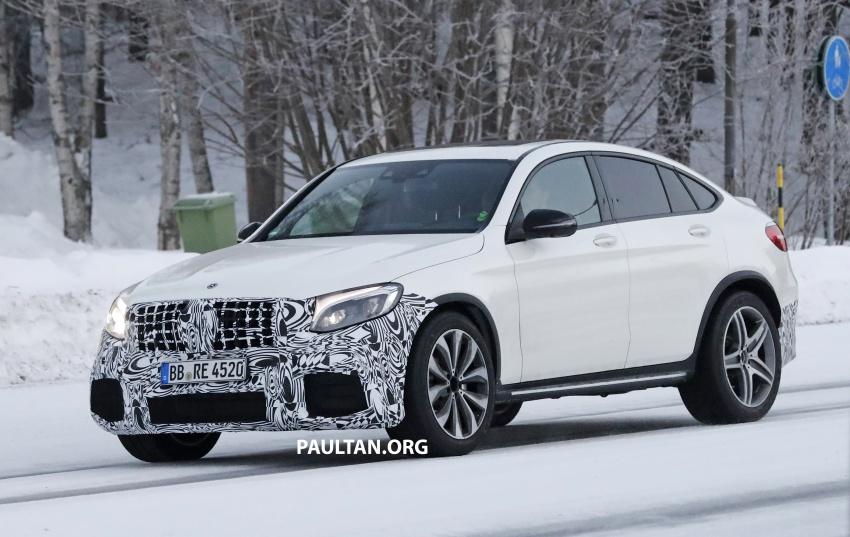 SPYSHOTS: Mercedes-AMG GLC63 Coupe spotted Image #593709