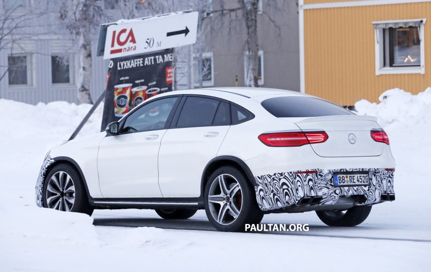 SPYSHOTS: Mercedes-AMG GLC63 Coupe spotted Image #593719