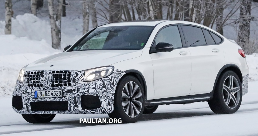 SPYSHOTS: Mercedes-AMG GLC63 Coupe spotted Image #593711