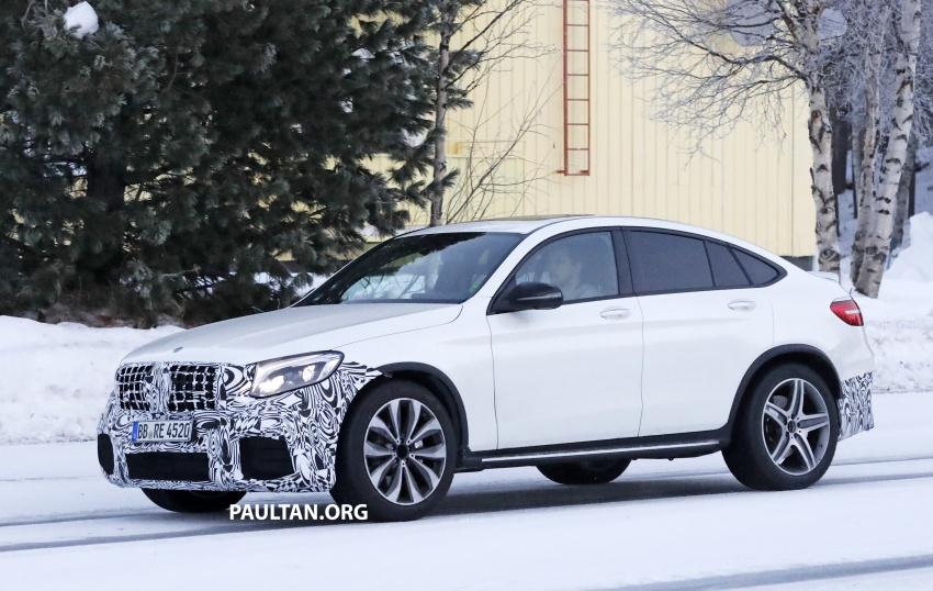 SPYSHOTS: Mercedes-AMG GLC63 Coupe spotted Image #593712