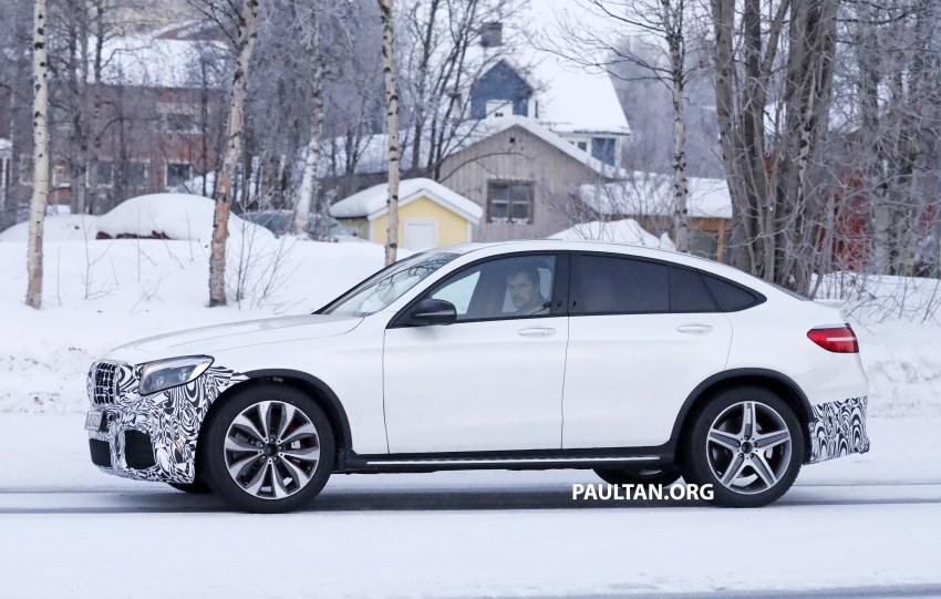 SPYSHOTS: Mercedes-AMG GLC63 Coupe spotted Image #593713