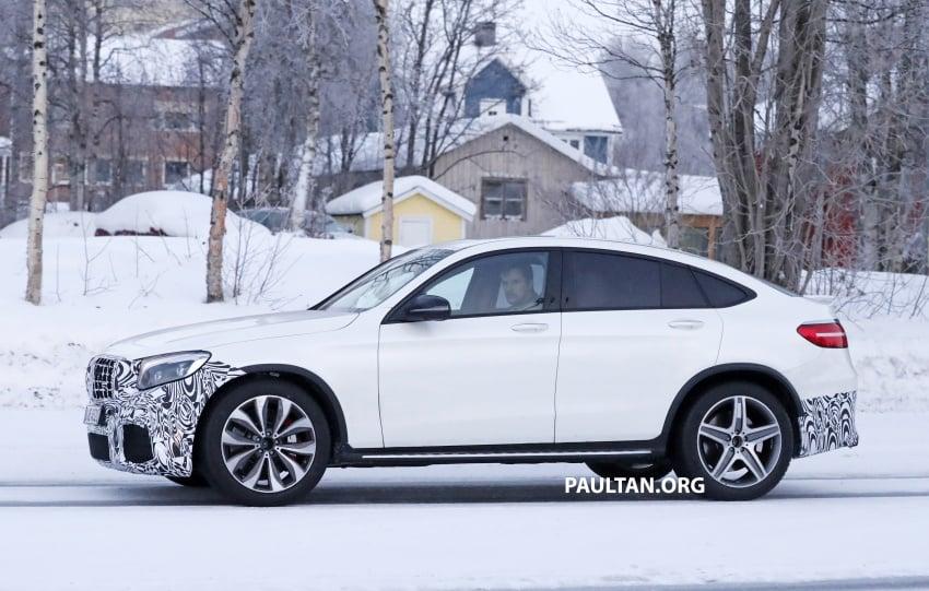 SPYSHOTS: Mercedes-AMG GLC63 Coupe spotted Image #593713