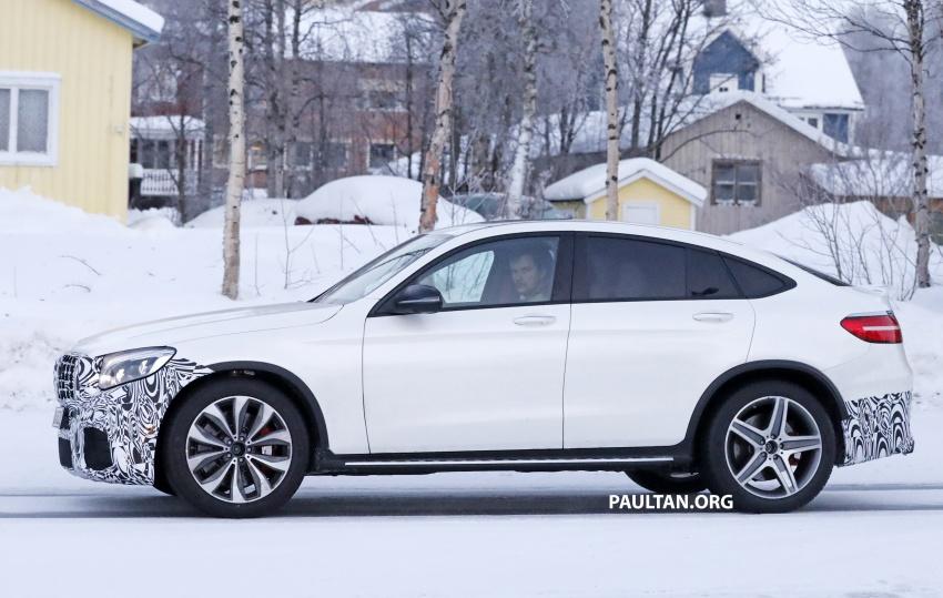 SPYSHOTS: Mercedes-AMG GLC63 Coupe spotted Image #593714