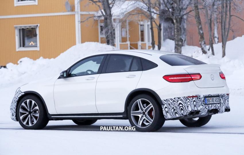 SPYSHOTS: Mercedes-AMG GLC63 Coupe spotted Image #593717