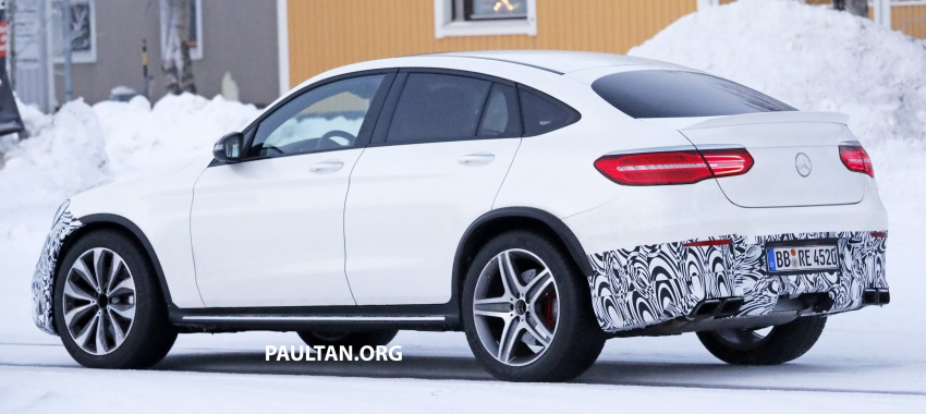SPYSHOTS: Mercedes-AMG GLC63 Coupe spotted Image #593718