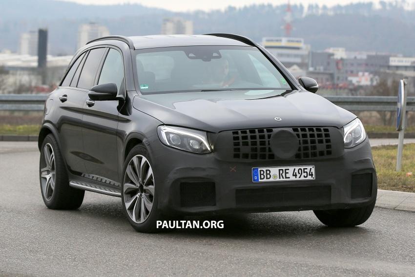 SPYSHOTS: Mercedes-AMG GLC63 Coupe spotted Image #593800