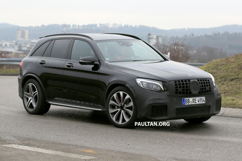 SPYSHOTS: Mercedes-AMG GLC63 Coupe spotted Image #593802