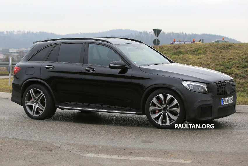 SPYSHOTS: Mercedes-AMG GLC63 Coupe spotted Image #593804