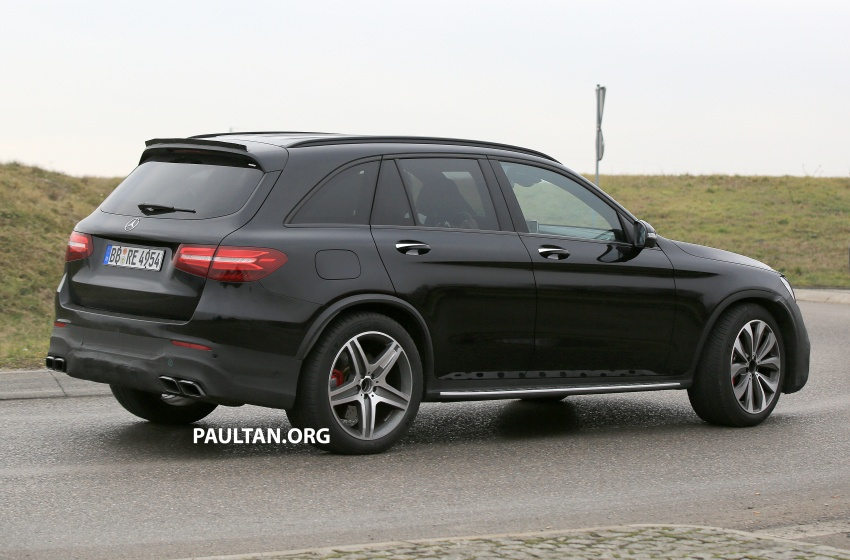 SPYSHOTS: Mercedes-AMG GLC63 Coupe spotted Image #593808