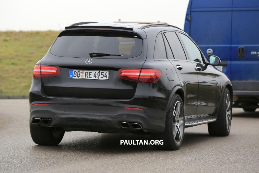 SPYSHOTS: Mercedes-AMG GLC63 Coupe spotted Image #593810