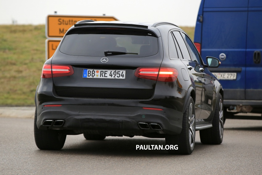 SPYSHOTS: Mercedes-AMG GLC63 Coupe spotted Image #593811