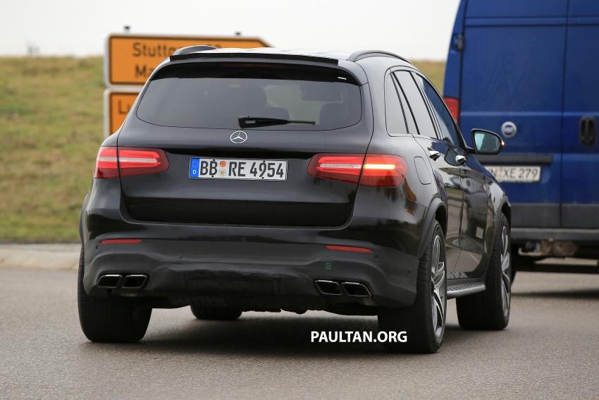SPYSHOTS: Mercedes-AMG GLC63 Coupe spotted Image #593811