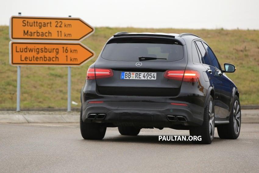 SPYSHOTS: Mercedes-AMG GLC63 Coupe spotted Image #593812