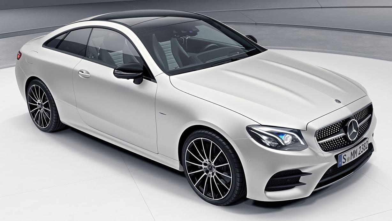 Mercedes-Benz E-Class Coupe Edition 1 – 555 units Paul Tan ...