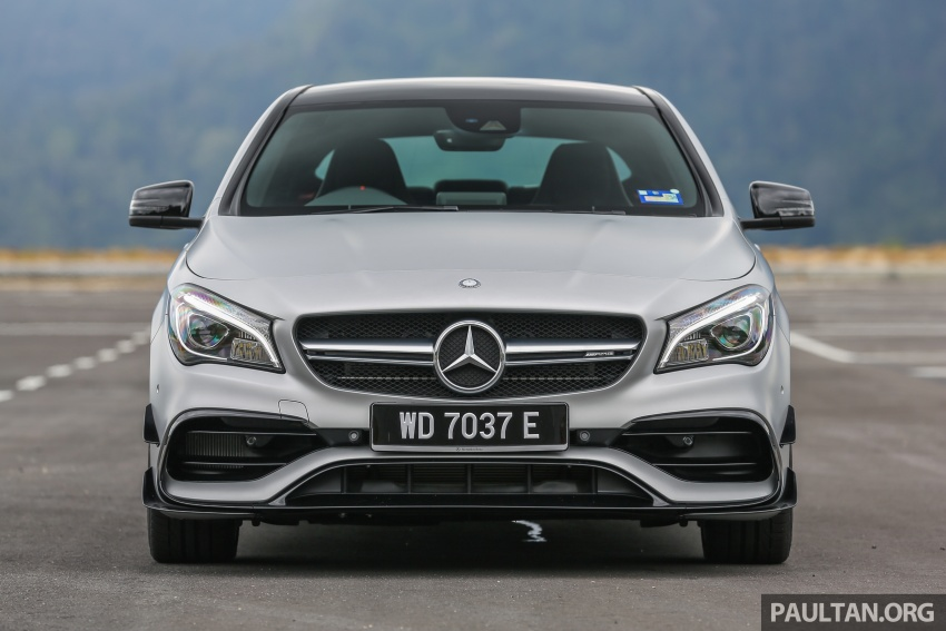 GALLERY: Mercedes-AMG CLA45 FL, from RM409k Image #596975